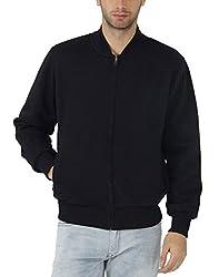 Fahrenheit Men's Fleece Sweat Shirt (8903942224027_Dark Blue_XX-Large)