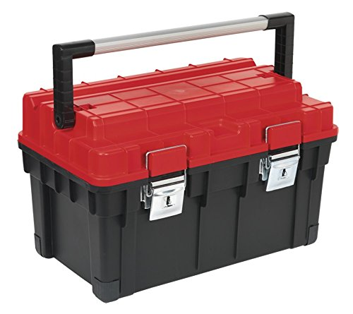 Sealey AP1113 Toolbox with Tote Tray, 595 mm