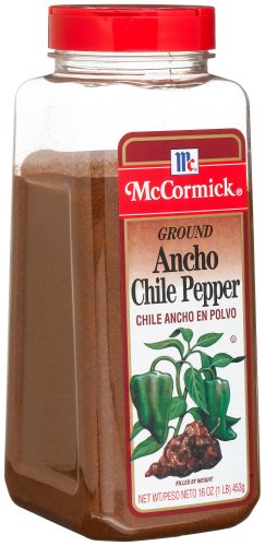 McCormick Ancho Chile Pepper, Ground, 16-Ounce