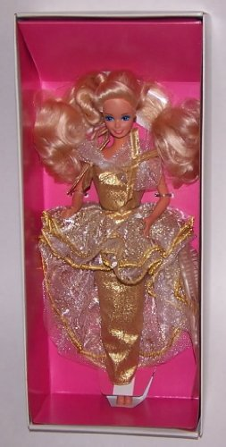 Golden Greetings Fao Schwartz Barbie 1989 - 1