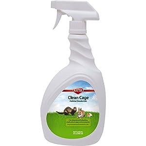 Kaytee Clean Cage Habitat Deodorizer Spray, 32-Ounce