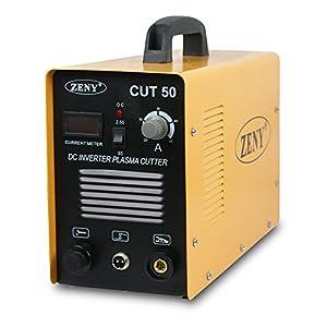 Super Deal Plasma Cutter 50AMP CUT-50 Digital Inverter 110-220V Welder Cutting Machine Orange from Super Deal