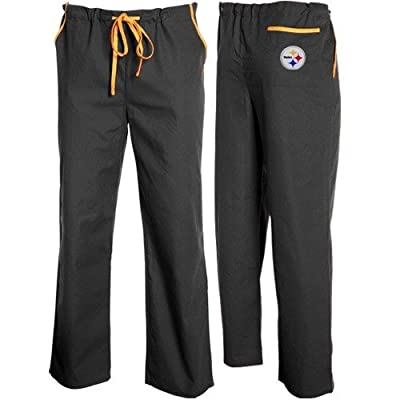 Scrub Dudz Pittsburgh Steelers Scrub Pant Large