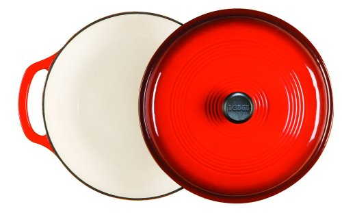 Lodge Color Dutch Oven, Island Spice Red, 6-Quart
