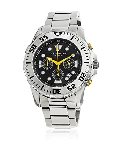 Akribos XXIV Reloj de cuarzo Man AK661SSB 50 mm