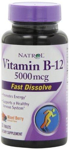 Natrol® - Vitamin B 12, 5000 mcg, Fast Dissolve