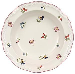villeroy boch petite fleur rim cereal bowl. Black Bedroom Furniture Sets. Home Design Ideas