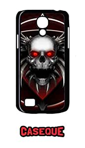 Caseque Twilight Skull Back Shell Case Cover For Samsung Galaxy S4 Mini