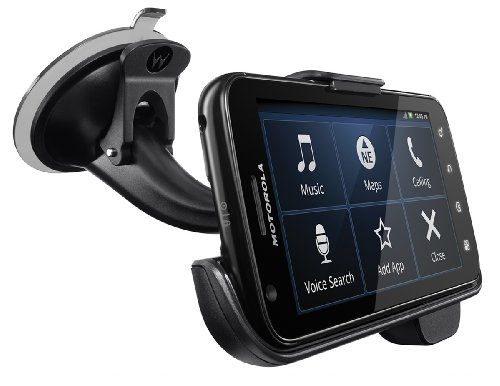 Motorola Vehicle Dock for Motorola ATRIX 4G with Rapid Car Charger (Motorola Retail Packaging)