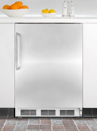 Summit Stainless Steel Upright Built In Freezer SCFF55LIMSSTB