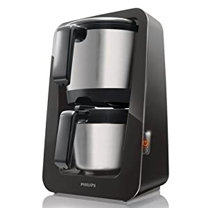 Philips HD7698/20 Avance Collection Kaffeemaschine (Thermokanne, 12 Tassen)schwarz