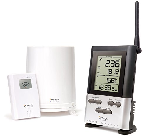 Oregon Scientific RGR126N Wireless Rain Gauge Weather Station with Thermometer (Oregon Scientific Bbq Thermometer compare prices)