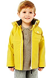 Funnel Neck Fisherman Hooded Mac