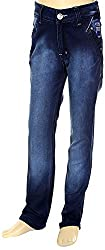 HAVOC Boys' 45063 Slim Fit Jeans (Blue, Size 32 - 7 to 8 Years)