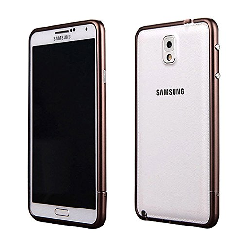 Moon Monkey Lightweight Aluminium Alloy Metal Frame Bumper Fashion Case For Samsung Galaxy Note 3 (Mm422) (Bronze)