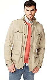 North Coast Pure Cotton 4 Pocket Military Jacket