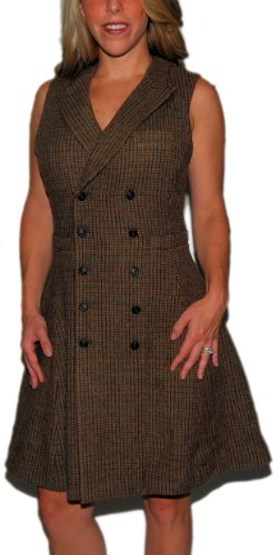 Polo Ralph Lauren Rugby Womens Wool Dress Skirt Plaid 4