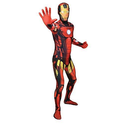 Morphsuits Iron Man Adult Fancy Dress Costume (2X-Large)