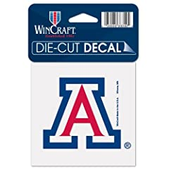 Buy Arizona Wildcats Official NCAA 4x4 Die Cut Car Decal by Wincraft by WinCraft