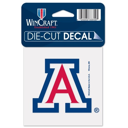 NCAA University of Arizona 52830012 Perfect Cut Color Decal, 4