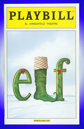 Elf Broadway Playbill