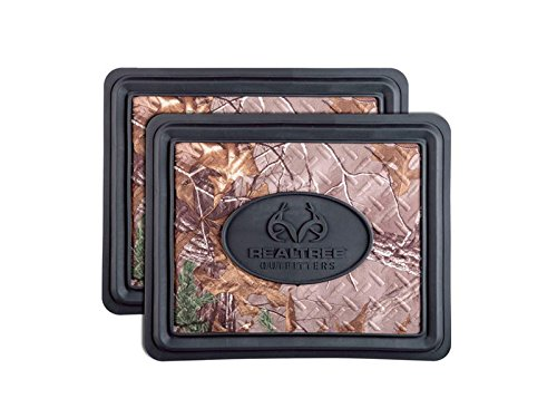 Realtree Rear Utility Floor Mat (Xtra Camo, Durable Molded PVC, 2 Pack) (Clear Mats For Chevy Cruze compare prices)
