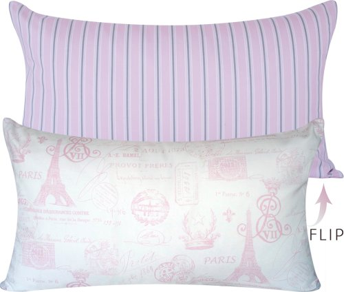 Shabby Chic Lumbar Pillows : Bon Voyage Collection - Designer Decorative 16
