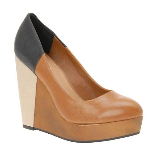 wedges aldo streat wedge shoes cognac 10