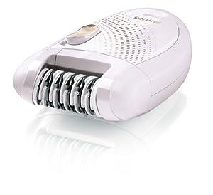Philips HP6401 Satinelle Epilator, White/Gray
