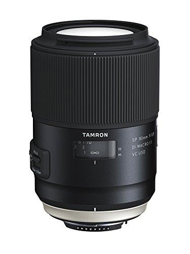 TAMRON 単焦点マクロレンズ SP 90mm F2.8 Di MACRO 1:1 VC USD ニコン用 フルサイズ対応 F017N【シフトブレ対応】