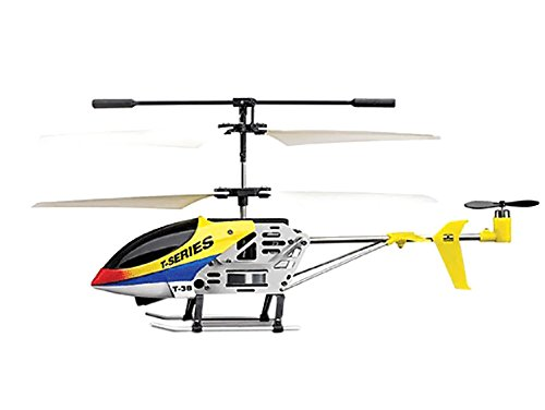 "Azimporter Preschool Children Activity Playset 7"" Mjx T638 Mini Thunderbird Rc Helicopter Tb38 Yellow front-367556"