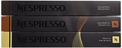 Nespresso OriginalLine: Vanilio, Ciocattino, Caramelito by Nespresso