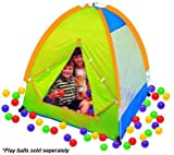 Children Pretend Play Camp Tent House with Tote