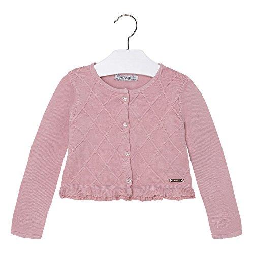 Mayoral - Giacchino maglia rombi,bimba (7 anni, rosa)