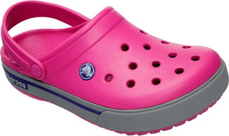 Crocs - Crocband ii.5 Clog - Fuchsia/Light Grey - Fuchsia Pink - Men's 5 / Women's 7