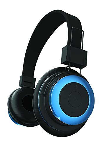 Click to buy Tzumi - Bluetooth - Stereo Foldable Rechargeable Wireless Headphones with Powerful Bass - Built in High Definition Microphone and Remote Music Control Blue - From only $24.99