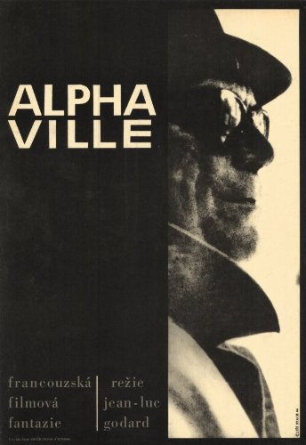 Alphaville - Movie Poster - 11 x 17