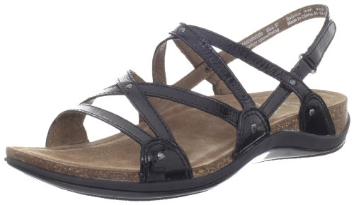 Dansko Women'S Jovie Sandal,Black Patent,39 Eu/8.5-9 M Us back-542532