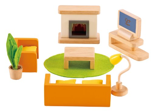 hape-media-room-wooden-doll-house-furniture
