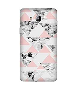 Triangles Back Cover Case for Samsung Galaxy On7