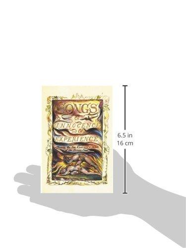 William Blake Songs of Innocence and of Expérience /Anglais
