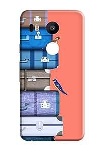 Google Nexus 5X Hard Cover Kanvas Cases Premium Quality Designer 3D Printed Lightweight Slim Matte Finish Back Case for Google Nexus 5X