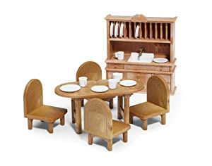 Calico Critters Country Dining Room Furniture Set Amazon