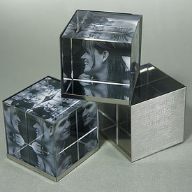 3d cube photo frame findgift