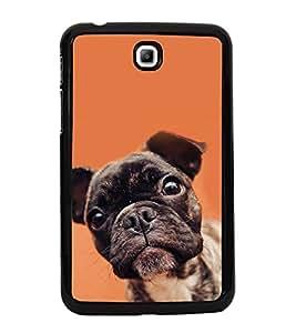 Dog 2D Hard Polycarbonate Designer Back Case Cover for Samsung Galaxy Tab 3 :: Samsung Galaxy Tab 2 P3200