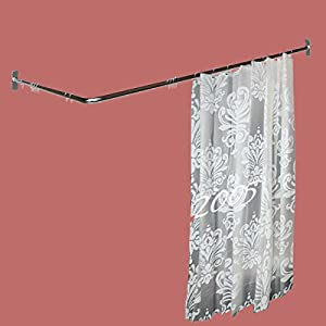 Grey Ruffle Shower Curtain Double Sided Roman Shades