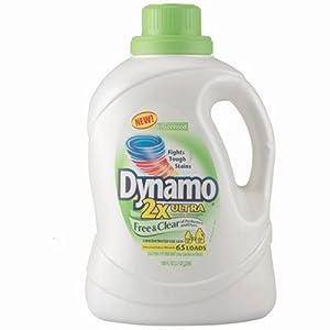 PBC48116 Dynamo Ultra Liquid Laundry Detergent, Free amp; Clear