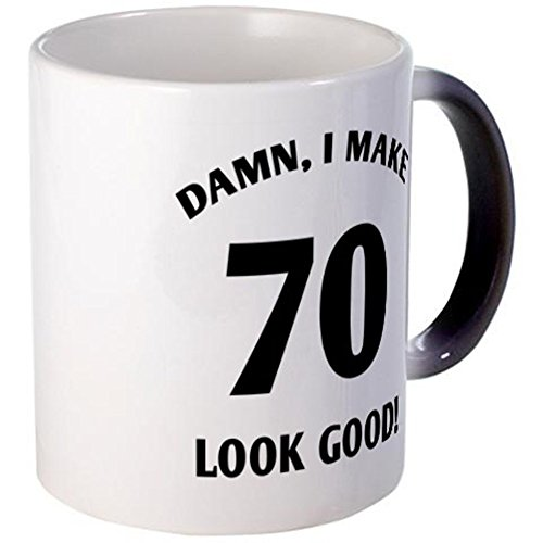 CafePress - 70 Yr Old Gag Gift - Unique Coffee Mug, 11oz Coffee Cup (70 Year Old Tshirt compare prices)