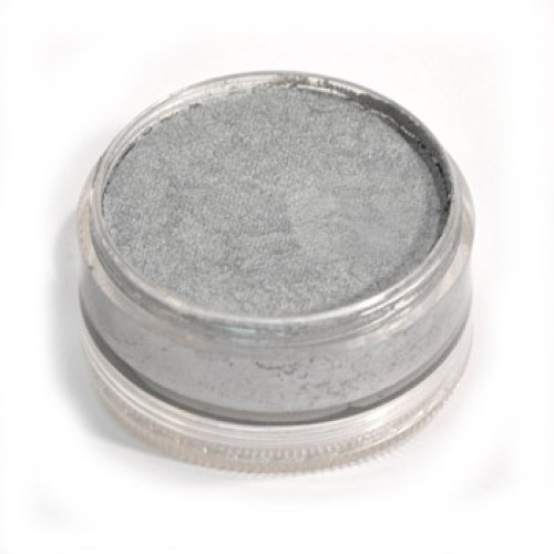 Wolfe Face Paints - Metallic Silver 200 (3.17 oz/90 gm)