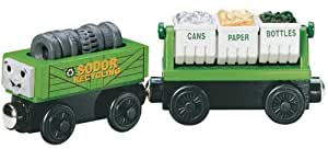 Thomas & Friends Wooden Railway - Recycling Cars